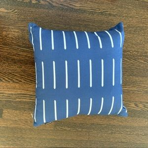 Pillow - Navy and White